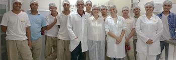 Colaboradores Rei do Milho em treinamento